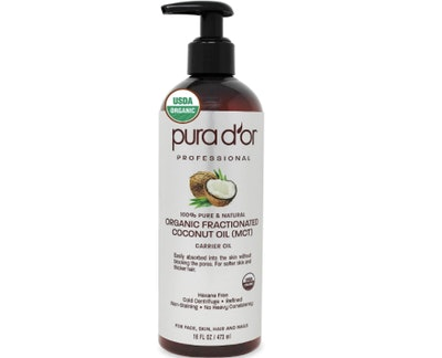 PURA D'OR Organic Fractionated Coconut Oil (16 Ounces)