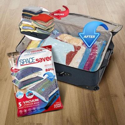 Spacesaver Vacuum Storage Bags (5-Pack)