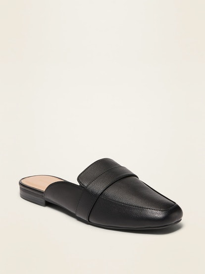 Old Navy Faux-Leather Driving Mules for Women