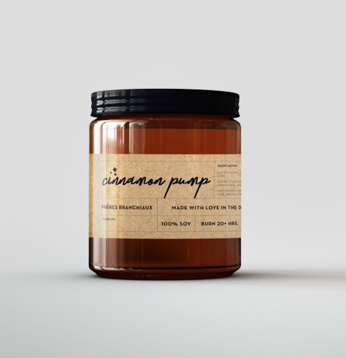 Cinnamon Pump Candle