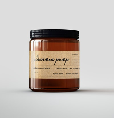 Cinnamon Pump Candle