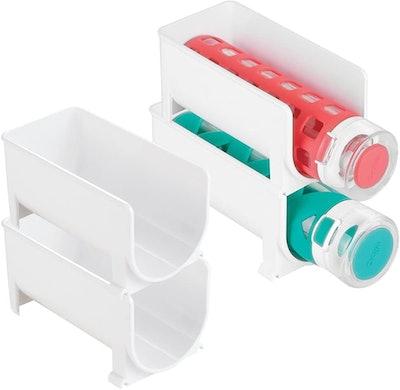 mDesign Stackable Water Bottle Holder