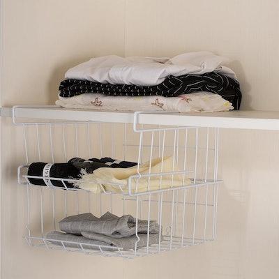 ASTOTSELL Under Shelf Storage Baskets (2-Pack)