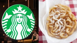 Starbucks has a funnel cake frappuccino on their secret menu.