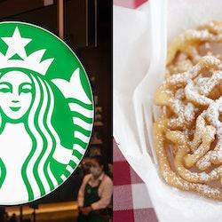 Starbucks has a funnel cake frappuccino on their secret menu.