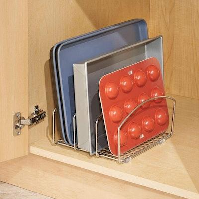mDesign Kitchen Bakeware Organiser