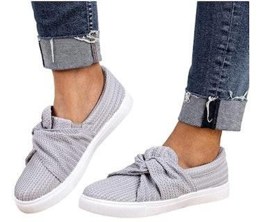 Liyuandian Knit Slip-On Platform Sneaker