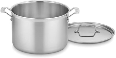Cuisinart MultiClad Pro Stainless Stockpot with Cover (12 Quart)