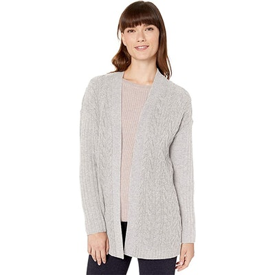 Amazon Essentials Cable Open-Front Sweater