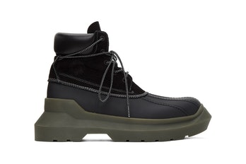 Undercover Paneled Boots