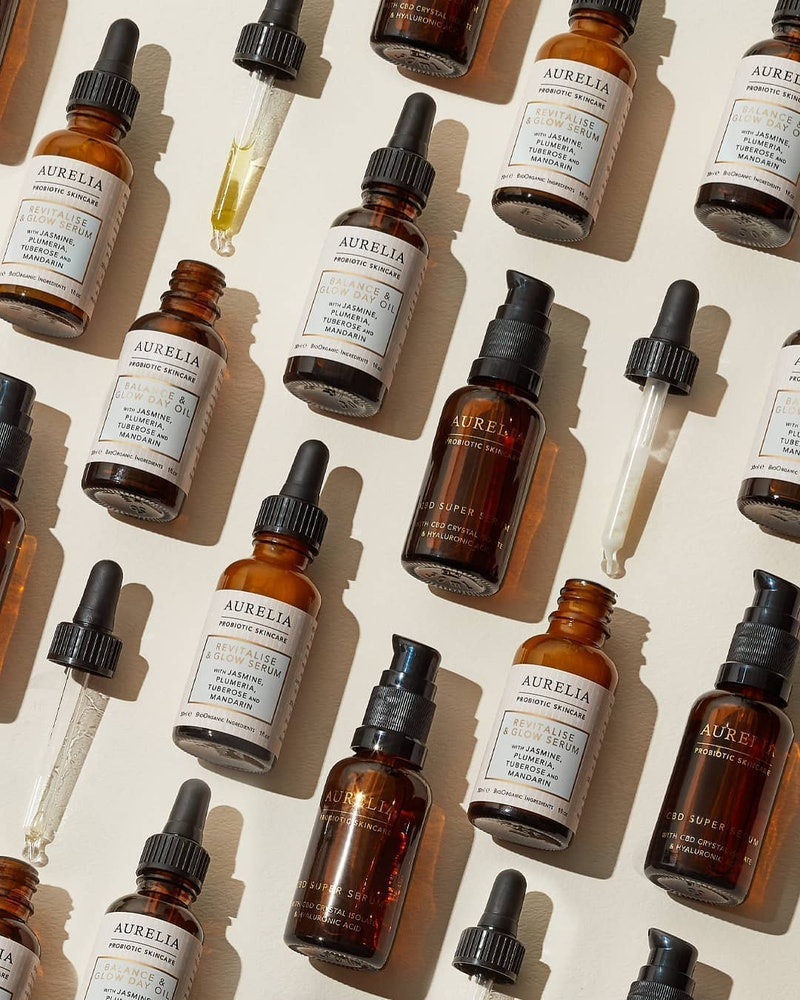 Aurelia Probiotic Skincare just introduced a Super Serum + Probiotics that uses CBD in a whole new way