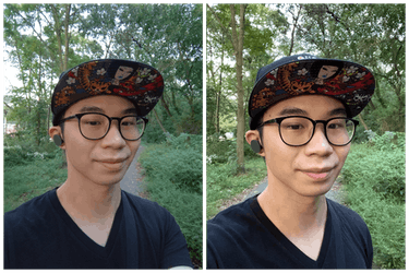 Surface Duo selfie camera review