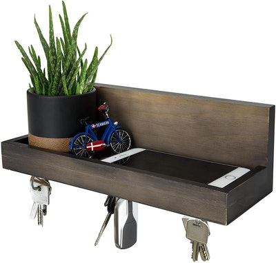 D'vine Dev Magnetic Key Shelf With Ledge