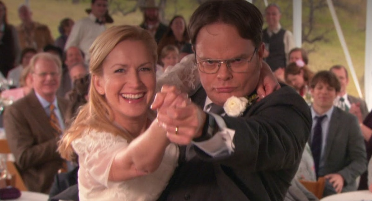 Angela and Dwight