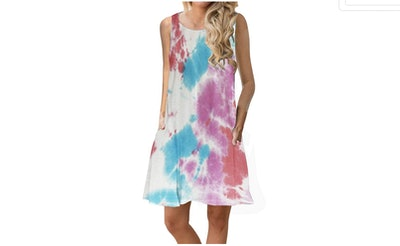 ETCYY Printed Swing Dress