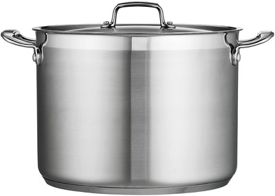 Tramontina Gourmet Stainless Steel Covered Stock Pot (16 Quarts)