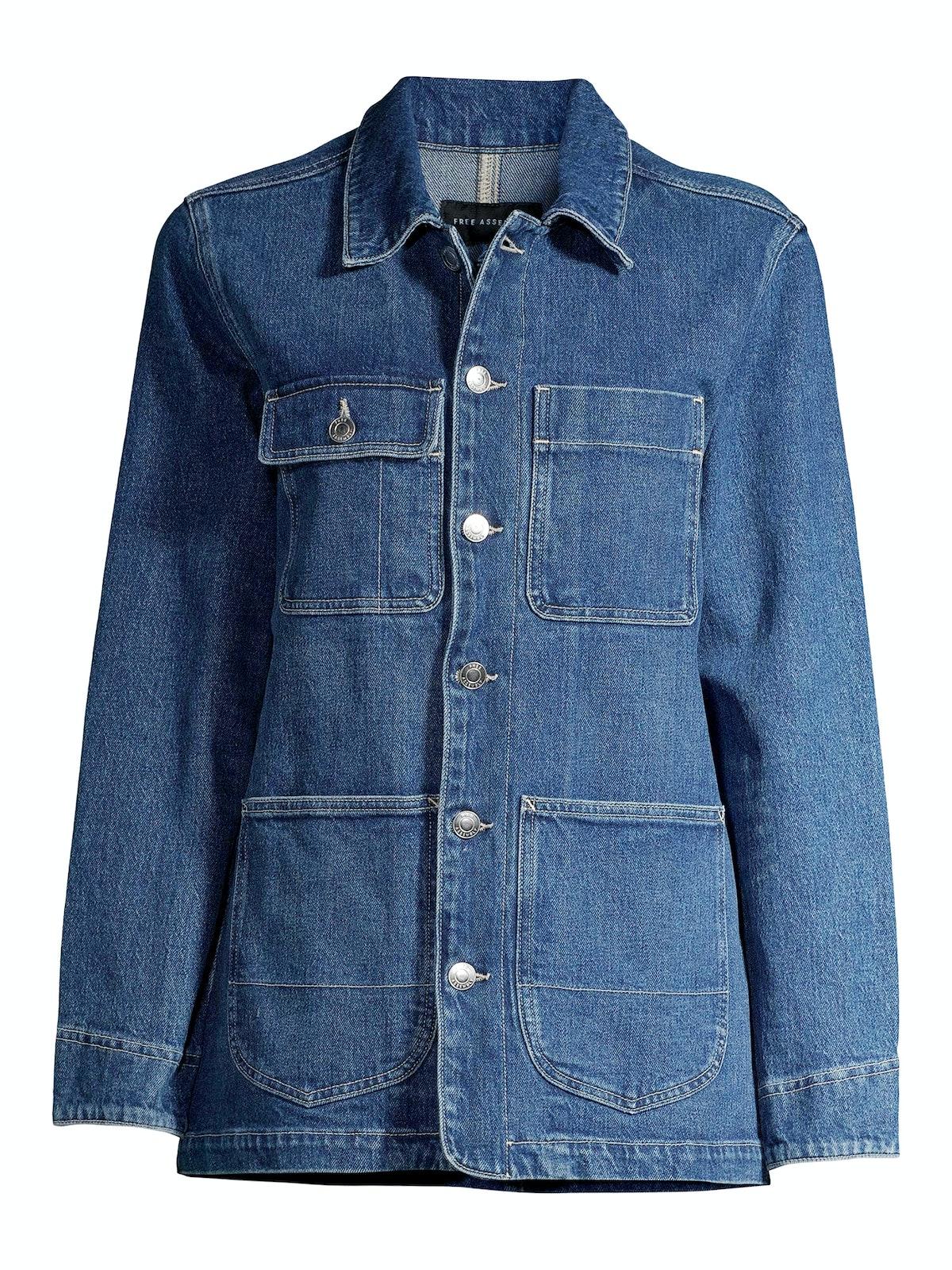 Oversized Denim Barn Jacket
