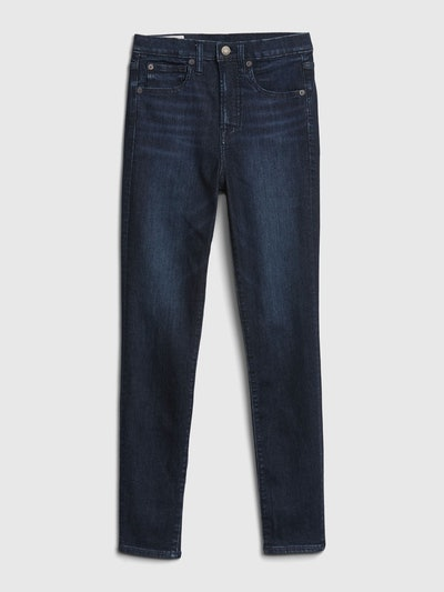 High Rise Skinny Jeans with Secret Smoothing Pockets