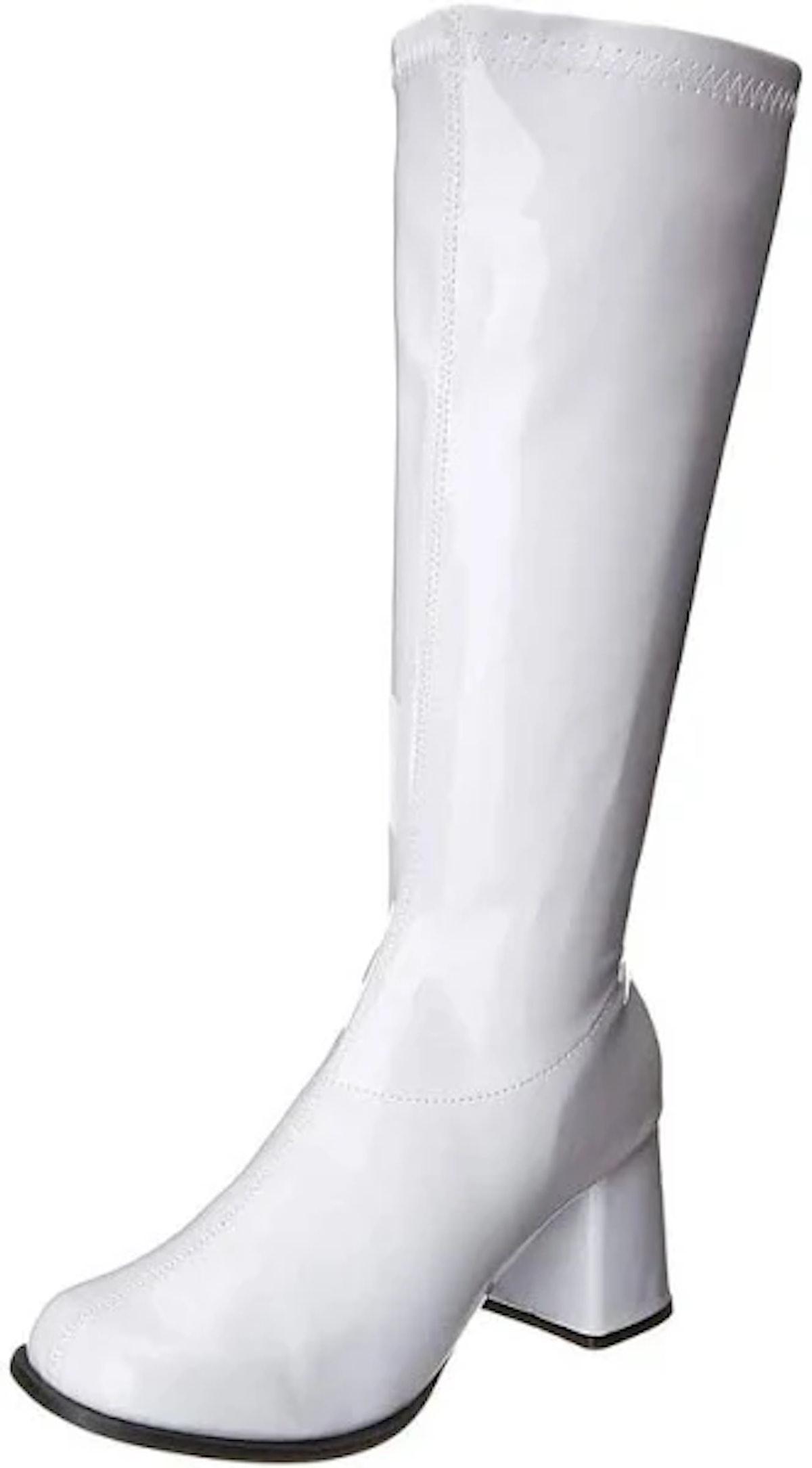Halloween Costumes Women's White Gogo Costume Boots