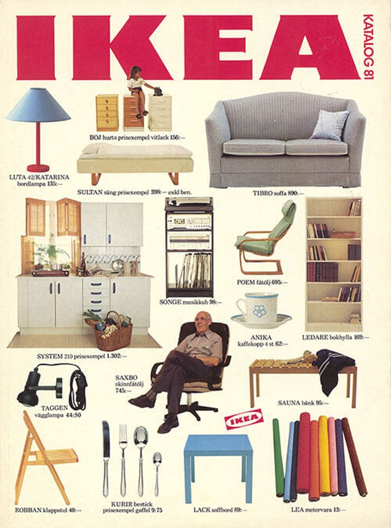 Cover of IKEA catalog