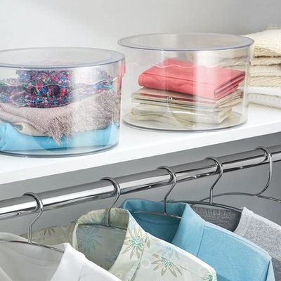 iDesign Clarity Storage Box With Lid