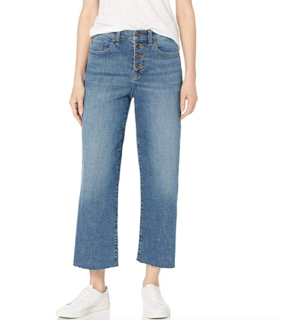 Daily Ritual Wide-Leg Crop Jean