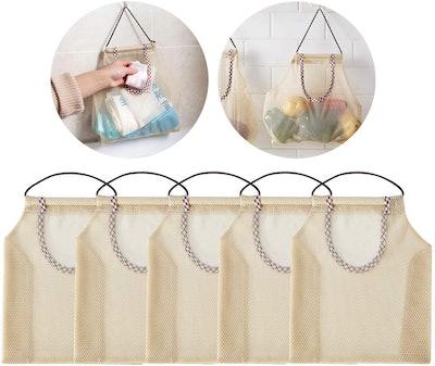 Golden Apple Breathable Hanging Mesh Bag