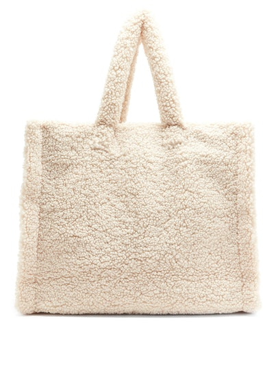 Stand Studio Lola Faux-Shearling Tote Bag