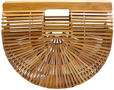 Miuco Handmade Bamboo Handbag