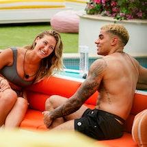 Love Island Season 2 Jalen and Moira via CBS press site