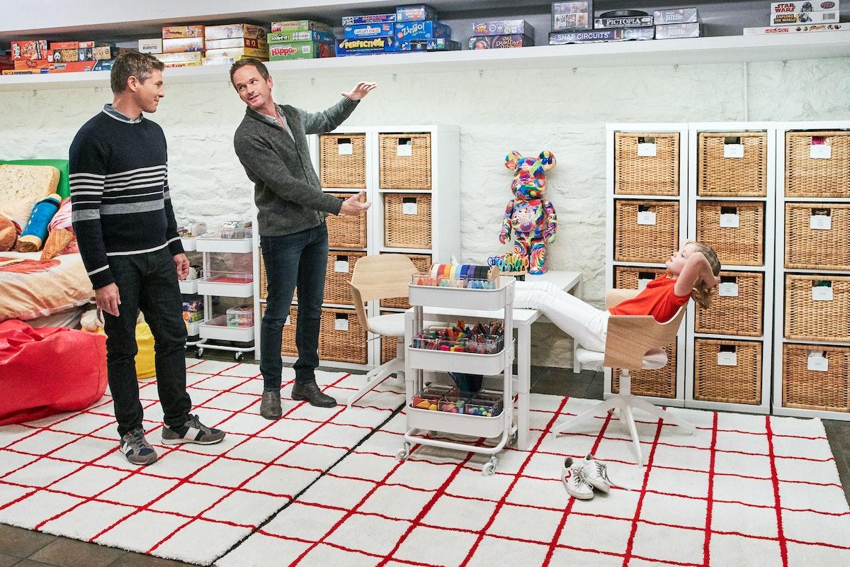 Neil Patrick Harris and David Burtka on 'Get Organized'