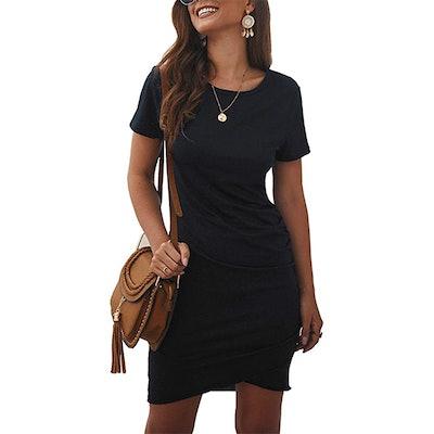 BTFBM Bodycon T-Shirt Dress