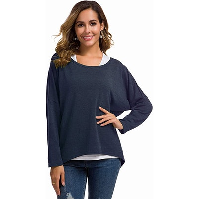 UGET Oversized Pullover Top