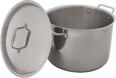 Stone & Beam Tri-Ply Stainless Steel Stockpot (12 Quart)