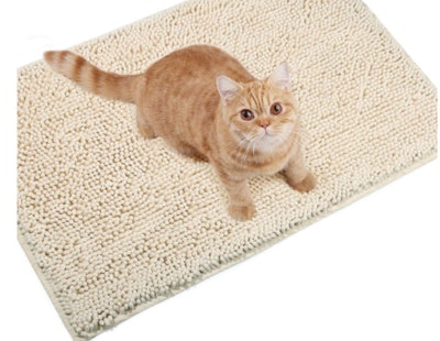 Vivaglory Microfiber Cat Litter Mat