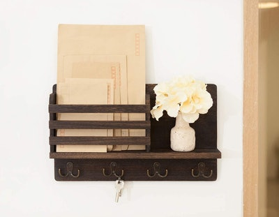 Dahey Wall-Mounted Mail Holder
