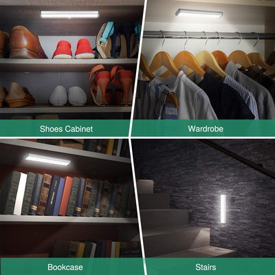 HIBOITEC Wireless Under Cabinet Lighting