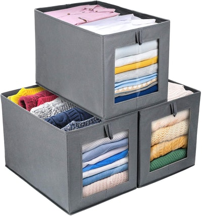 DIMJ Foldable Storage Boxes (3-Pack)