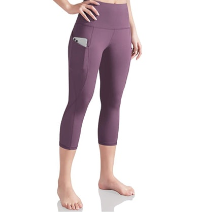 ODODOS High-Waist Workout Pants With Pockets