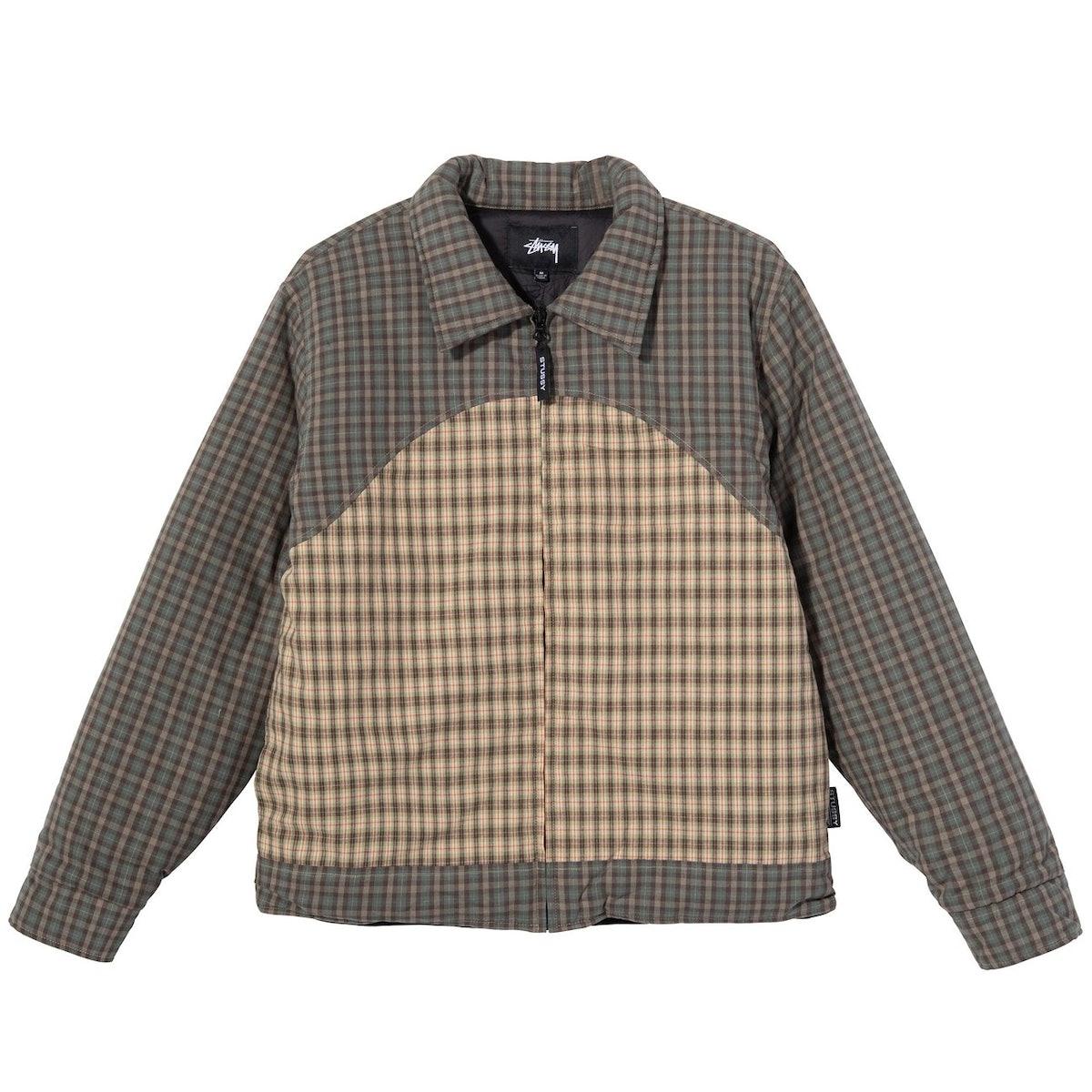 Plaid Fill Jacket