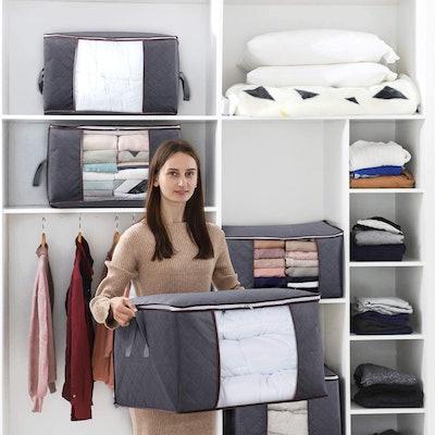 Lifewit Large Clothing Storage Bags (3-Pack)