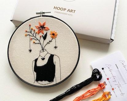 Autumn Halloween Embroidery Kit