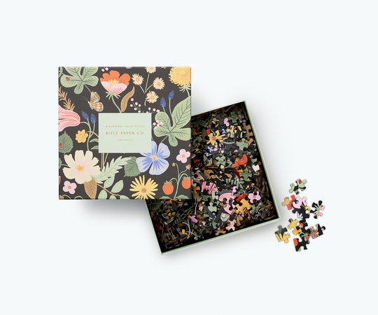 Garden pattern 500 piece jigsaw puzzle from Rifle Paper co