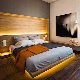 GZBtech LED Under Bed Lights