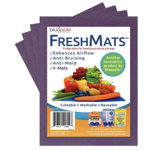 BluApple FreshMats Fruit and Vegetable Shelf Liners