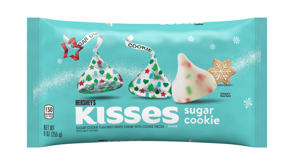 Hershey's 2020 holiday Kisses and candy collection looks so festive.