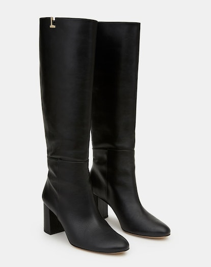 LEATHER VALE KNEE-HIGH ICON BOOT