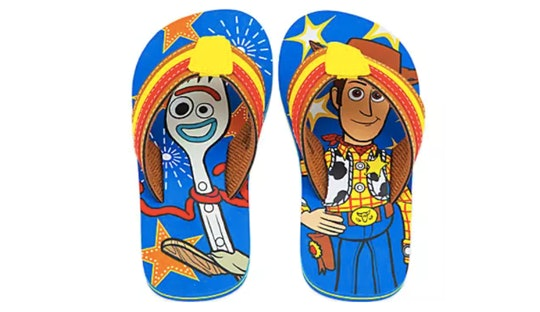 Toy Story flip flops are only $2 at Disney's twice upon a year sale