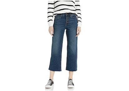Goodthreads Women's High-Rise Wide Leg Cropped Jean