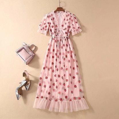 TiffasShop The Famous Strawberry Dress